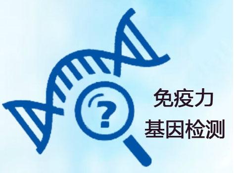 免疫力基因检测